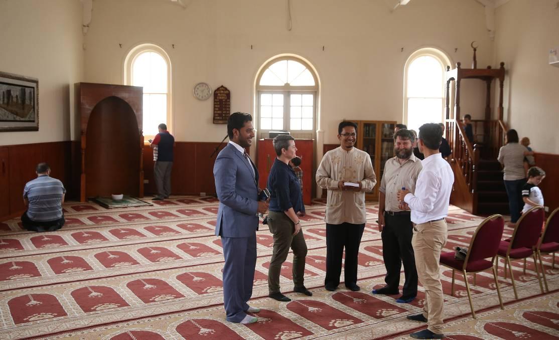روز درهای باز در مسجد میفیلد آمریکا