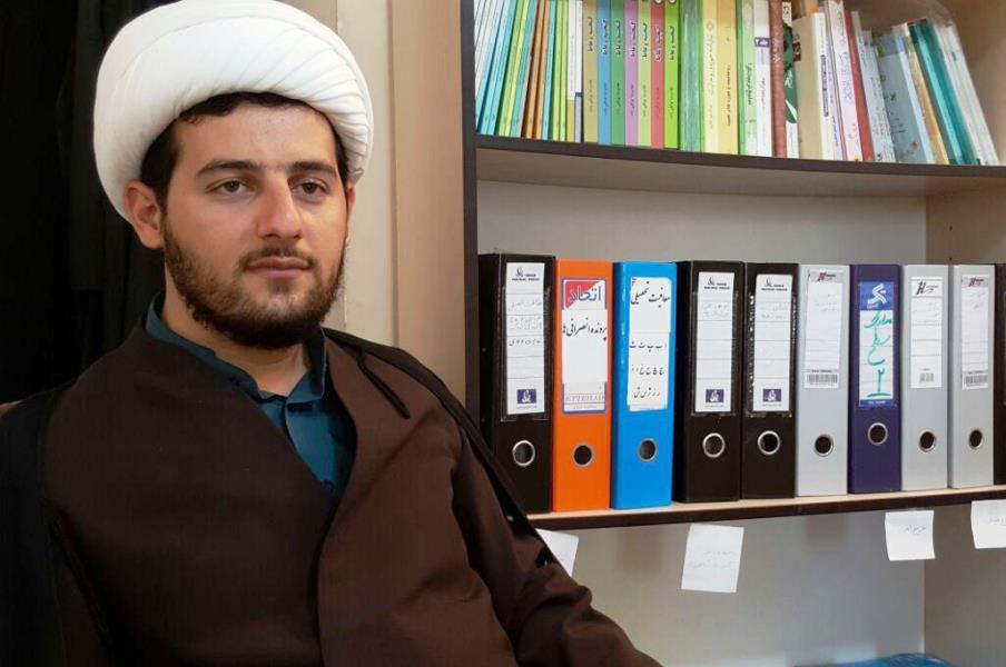 حجت الاسلام سعید مومنی ـ معاون امور طلاب و دانش آموختگان حوزه علمیه استان کردستان