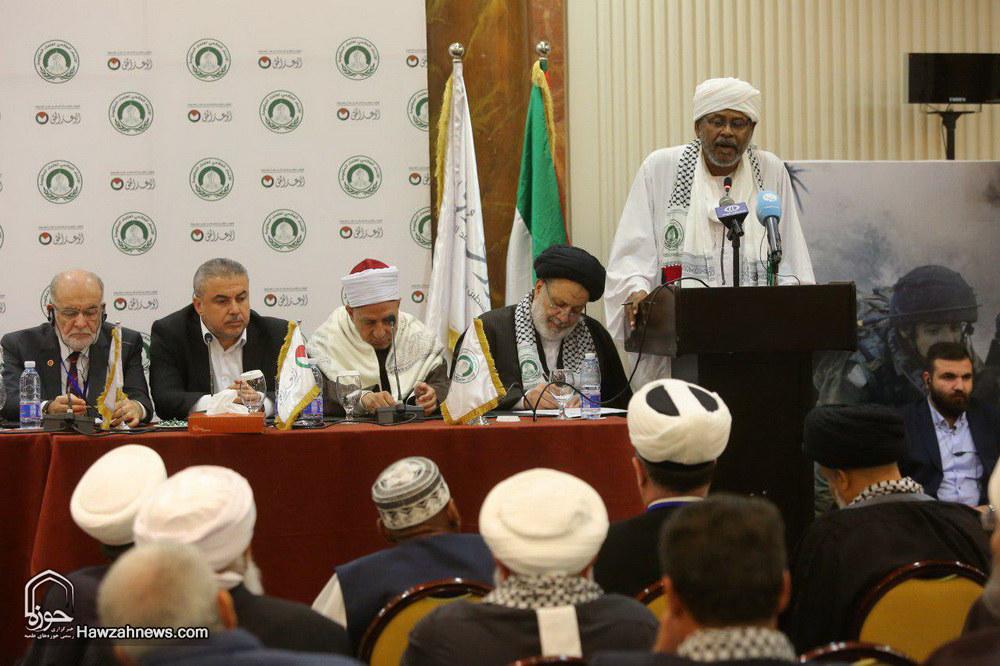 دومین اجلاس بین المللی اتحاد علمای مقاومت در بيروت