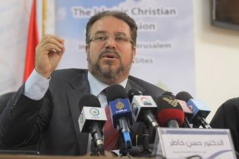 دکتر حسن علی خاطر رئیس مرکز بین المللی القدس