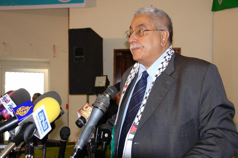 معن بشور رئیس مرکز عربی بین المللی ارتباط و همبستگی
