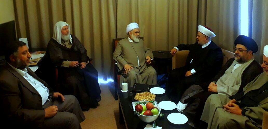 جبهه العمل الاسلامی لبنان با دبیر کل مجمع جهانی اهل بیت دیدار کرد