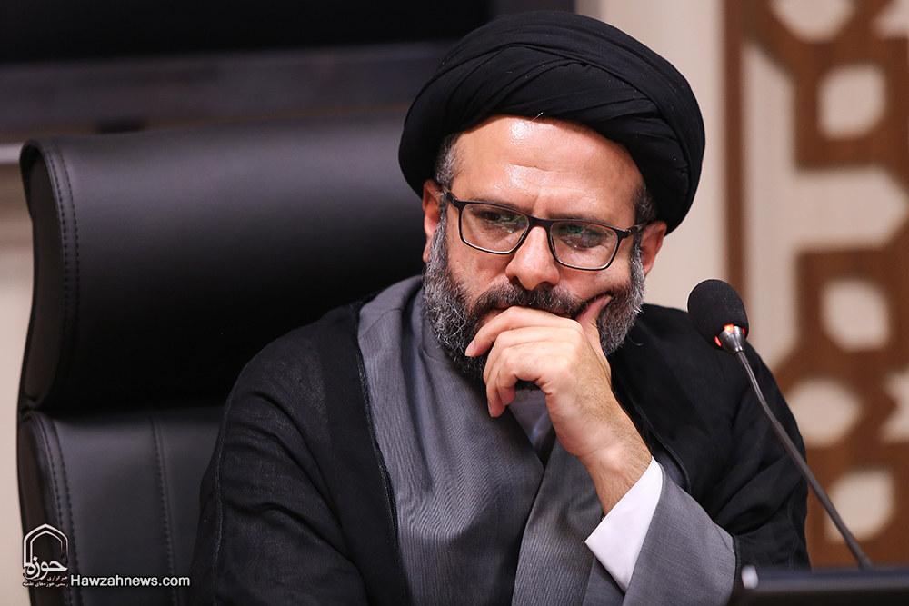 حجت الاسلام سید مفید حسینی کوهساری مدیرمسئول خبرگزاری حوزه