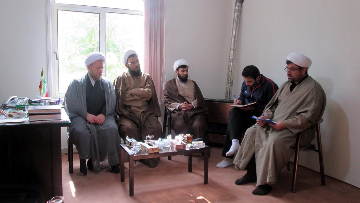 حجت الاسلام حسنی مسوول بسیج طلاب همدان