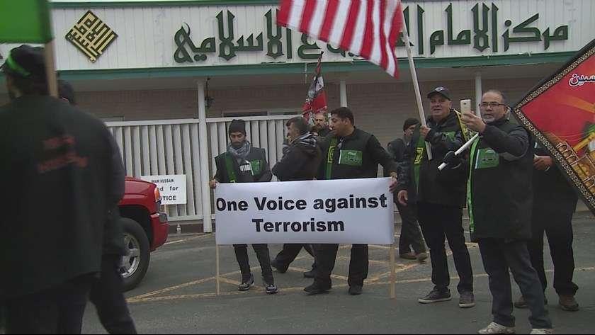 راهپیمایی اربعین عزاداران شیعه در شهر بویزی آمریکا