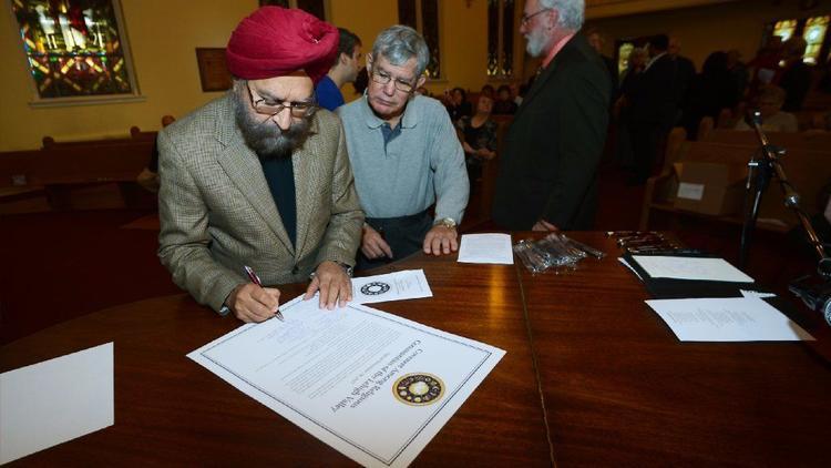 رهبران ادیان در پنسیلوانیا توافقنامه «همبستگی میان ادیانی» امضاء کردند
