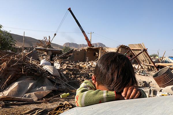 زلزله زدگان منطقه غرب کشور