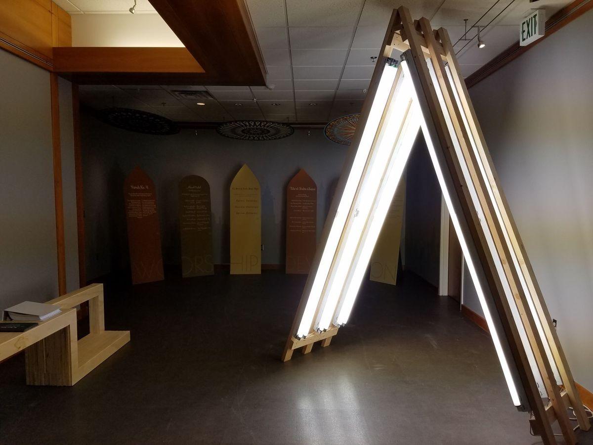 نمایشگاه «نواهای مقدس» ادیان ابراهیمی در یوتا