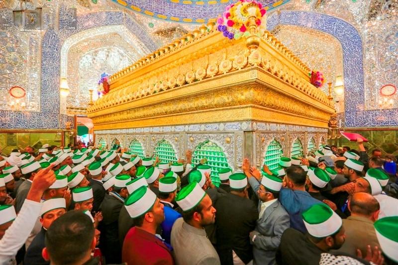متصوفین هند به زیارت حرم امیر المؤمنین (ع) مشرف شدند