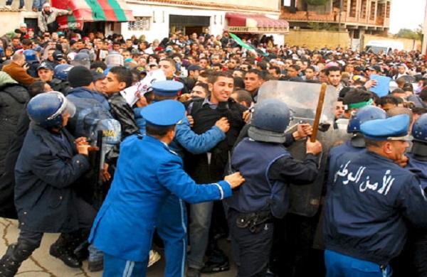 ممانعت دولت الجزایر از تظاهرات ضدصهیونیستی مردم