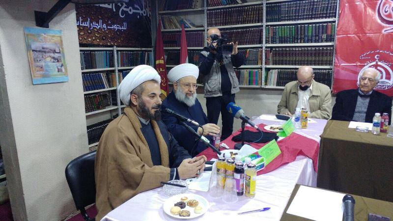شیخ ماهر حمود و شیخ محمد حسین الحاج