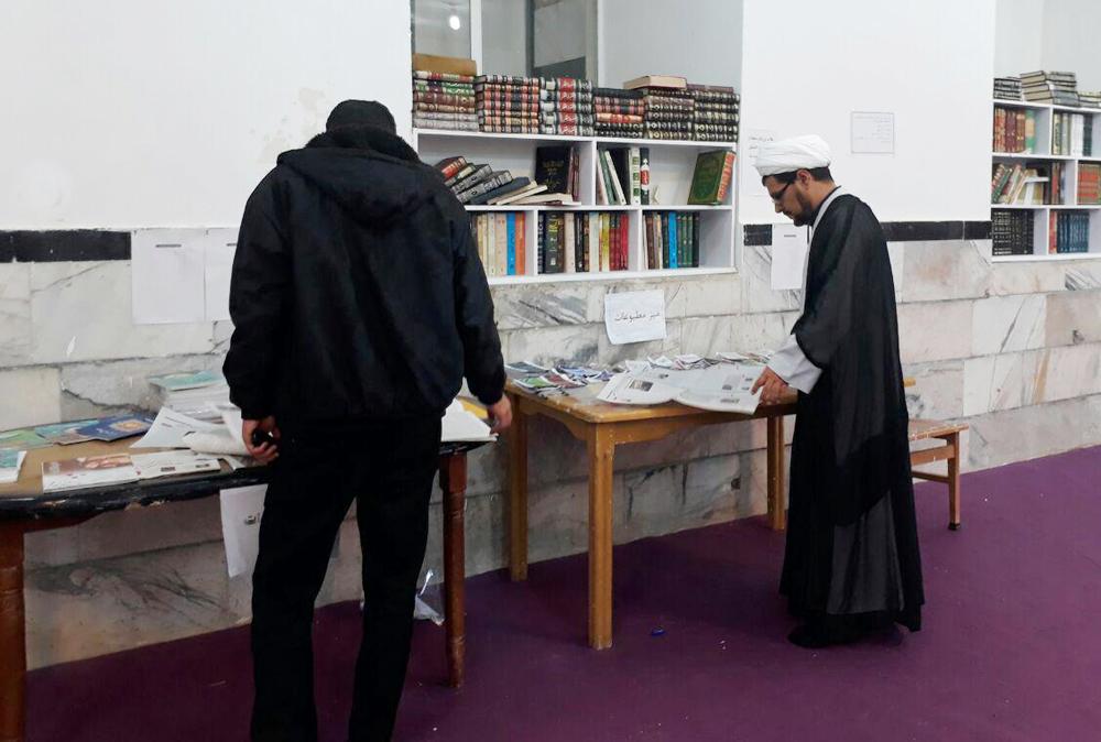اتاق پژوهش مدرسه  علمیه بیجار