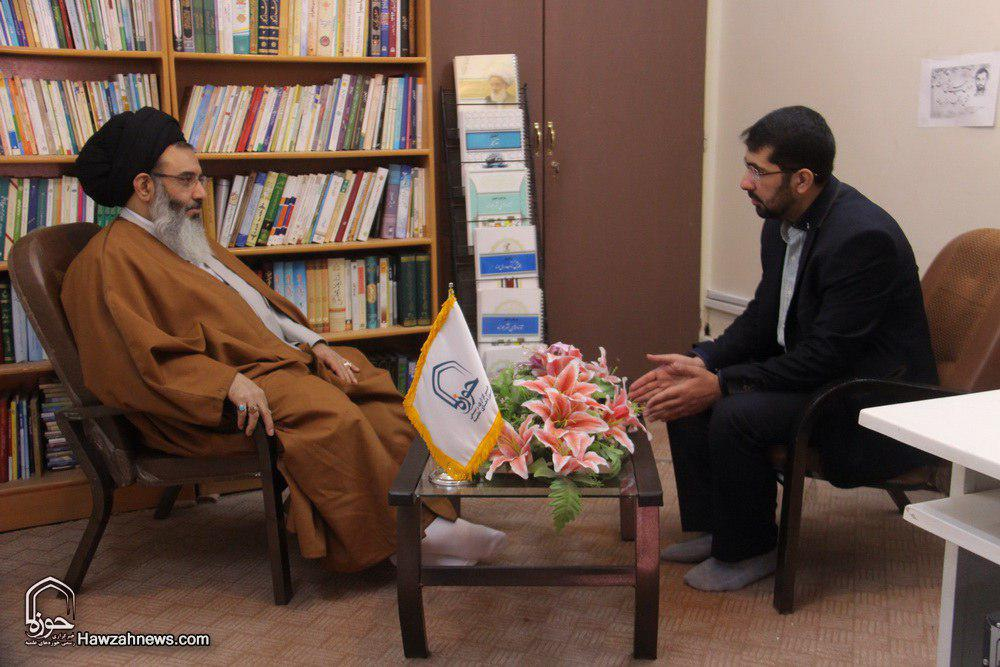 حجت الاسلام والمسلمین سید ابوالفضل طباطبایی اشکذری نماینده ولی فقیه در سوریه