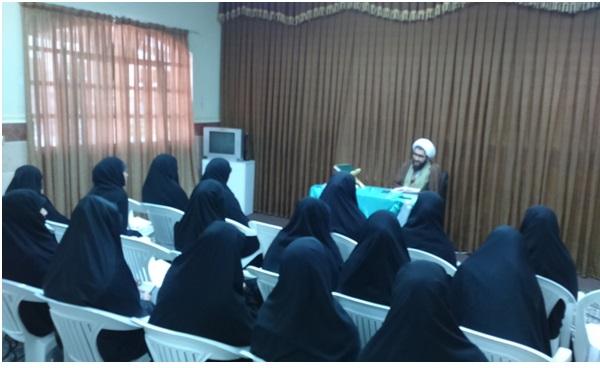 حماسه ۹ دی ؛ مدرسه علمیه خواهران الزهرا(س)۹ کلاردشت