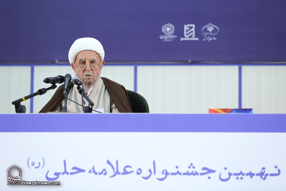 تصاویر/ اختتامیه نهمین جشنواره علامه حلی(ره)- ۱
