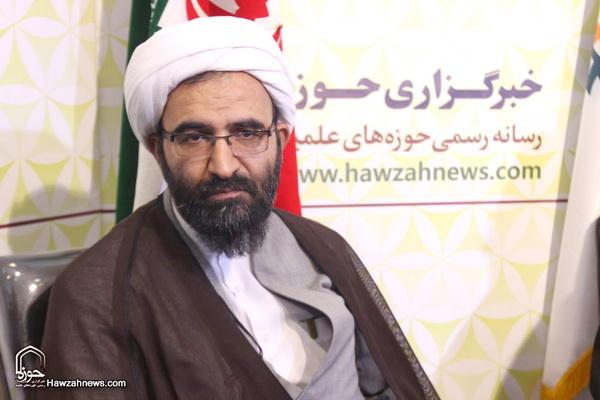 حجت الاسلام والمسلمین رحیمی صادق-مدیر حوزه علمیه تهران