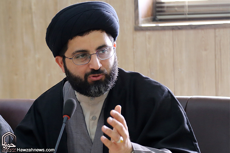 حجت الاسلام سید جعفر موسوی ، مدیر مدرسه علمیه ولی عصر(عج) اهواز