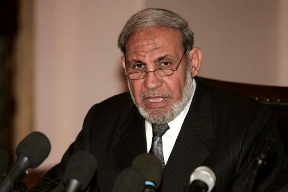 محمود الزهار عضو دفتر سیاسی حماس