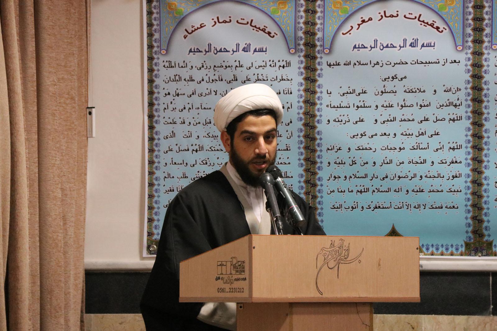 حجت الاسلام سابقی نشست نقدپذیری معصومین