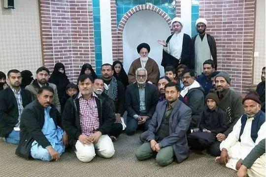 دیدار اعضای جنبش علم و عملِ اصغریه پاکستان با نماینده ولی فقیه در عراق