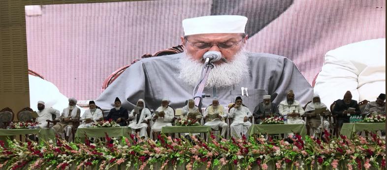 اجلاس عمومی هیئت احکام شخصیه مسلمنان هند در حیدر آباد هند برگزار شد.