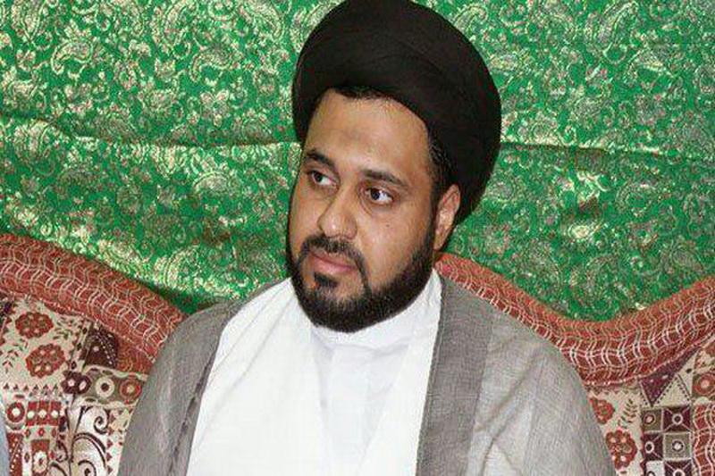 حجت الاسلام و المسلمین سید عباس شبر رئیس بخش آزادی های دینی سازمان حقوق بشر بحرین