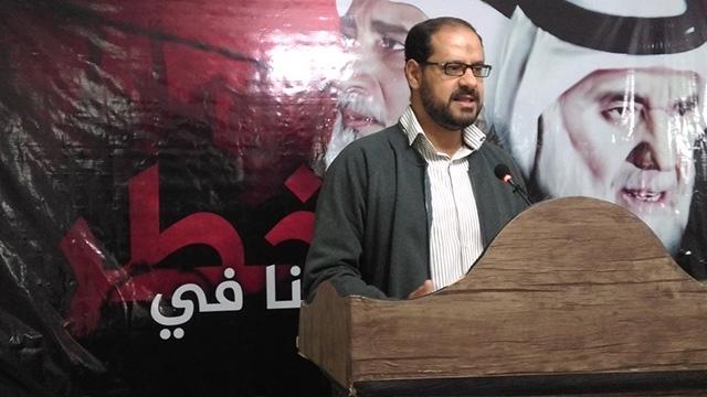 عبدالغنی خنجر سخنگوی جنبش حق بحرین