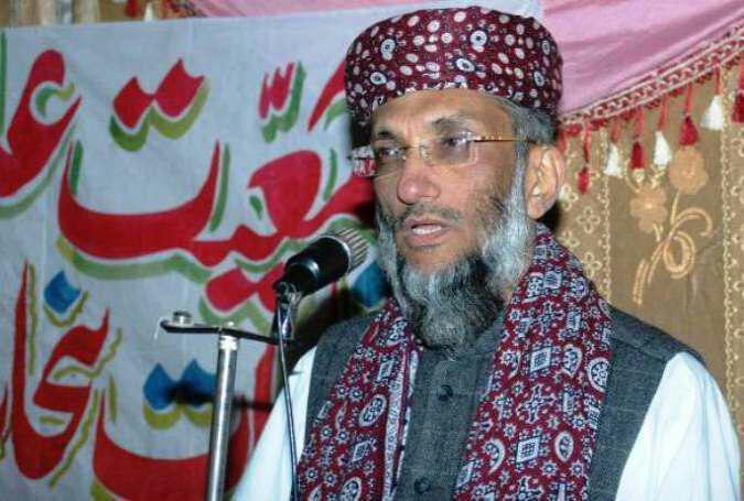 رئیس شورای همبستگی ملی و جمعیت علمای (نورانی ) پاکستان دکتر صاحبزاده ابو الخیر محمد زبیر