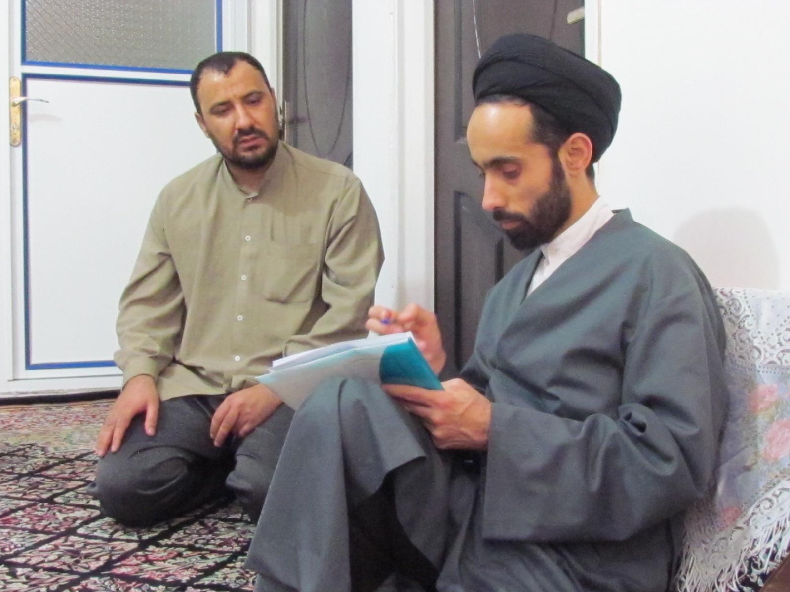 بازدید معاون تبلیغ حوزه کرمان از جنوب استان کرمان