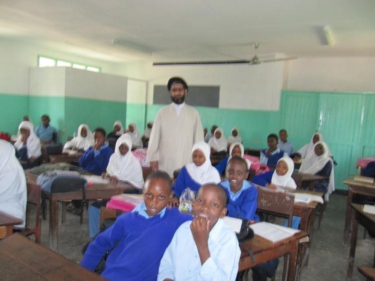 نماینده جامعه المصطفی در تانزانیا