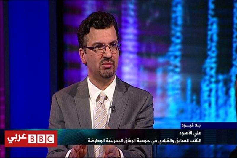 علی الاسود عضو الوفاق بحرین