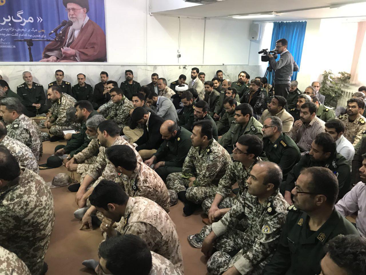دیدار با سپاه انصارالرضا