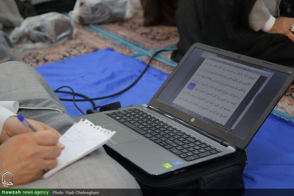 تصاویر/ اولین جلسه درس خارج فقه آیت الله العظمی مکارم در سال جدید