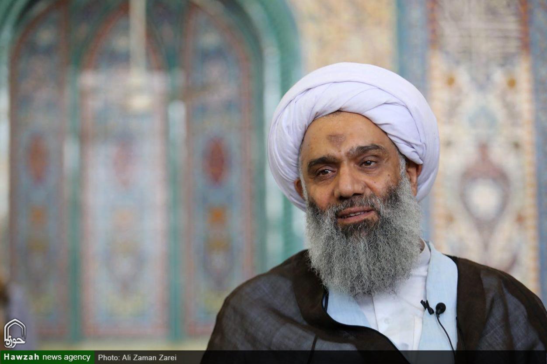 حجت الاسلام و المسلمین فرحانی ، نماینده مردم خوزستان در مجلس خبرگان رهبری