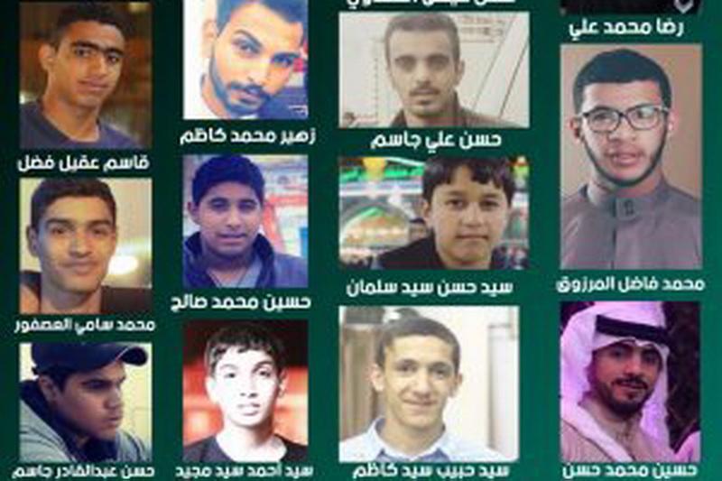 ۱۴ شهروند بحرینی ربوده شده از سوی رژیم آل خلیفه