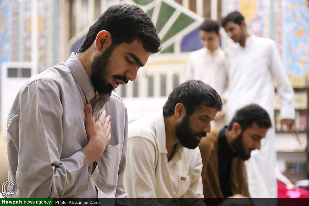 پایان سه روز بندگی و نجوای عاشقانه طلاب در اهواز