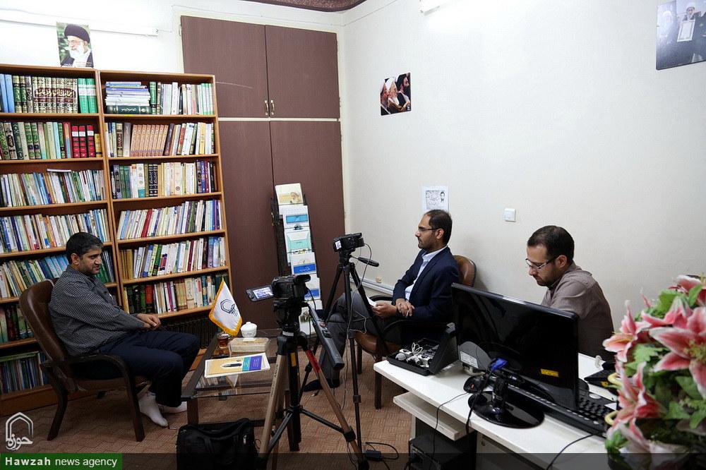 گفت و گو با عبدالمجید حسینی رکنی