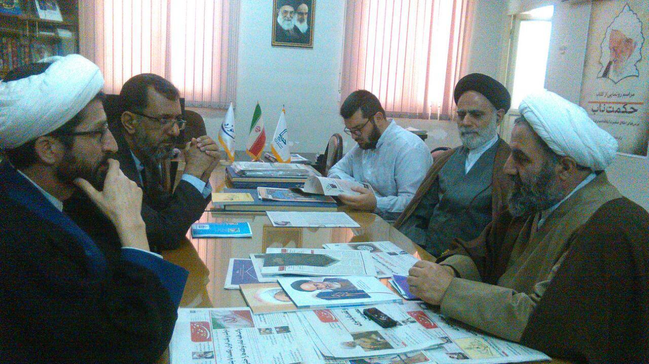 بازدید نایب رئیس بسیج اساتید قم از خبرگزاری حوزه