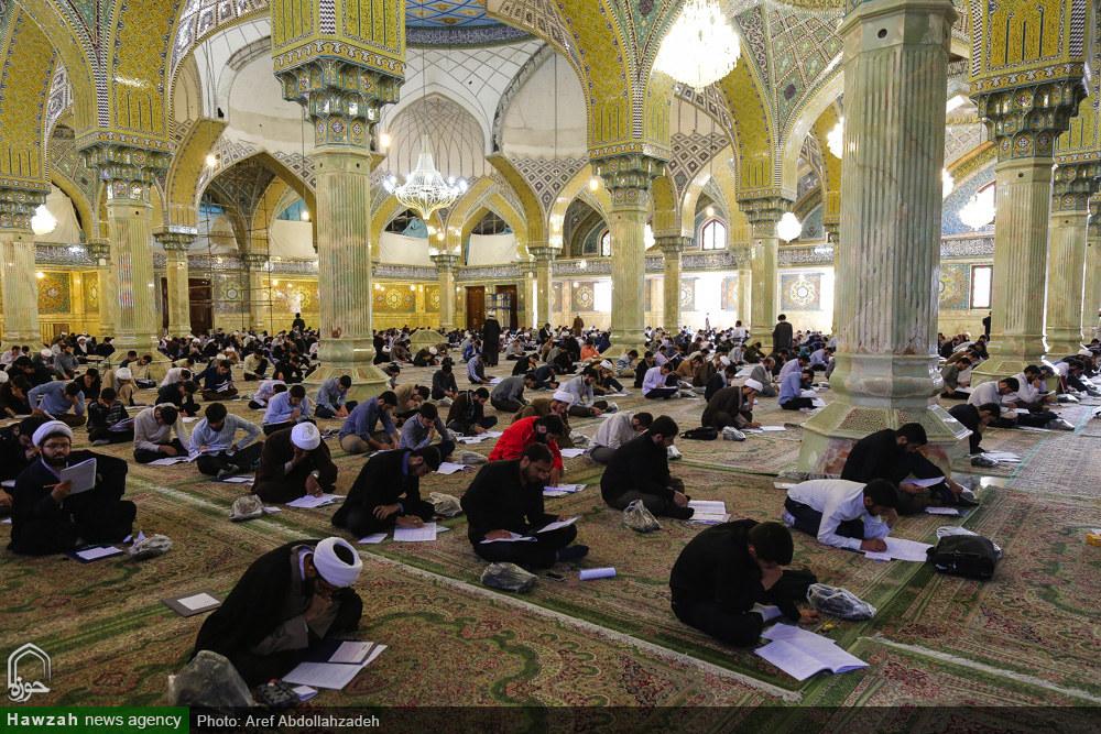 تصاویر/ آزمون ورودی مدارس و مراکز فقهی حوزه