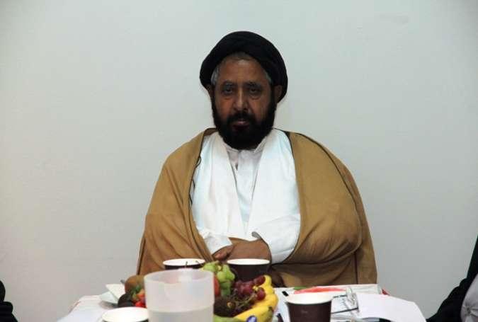 سید نیاز حسین نقوی نائب رئیس وفاق المدارس شیعه