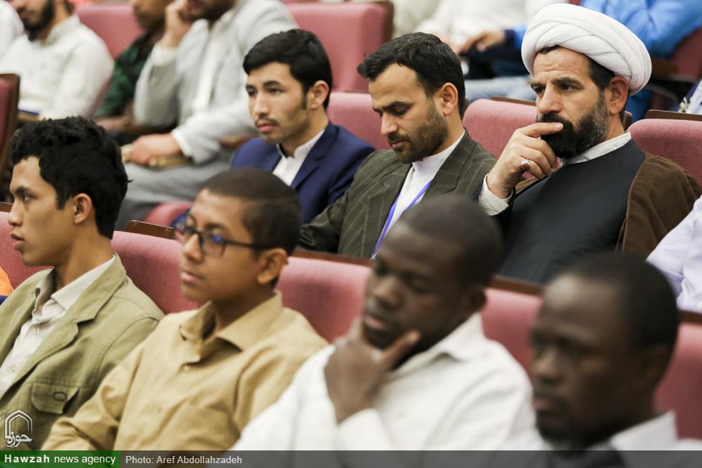 تصاویر/ مراسم افتتاحیه دومین دوره مسابقات بین المللی قرآن کریم طلاب جهان اسلام