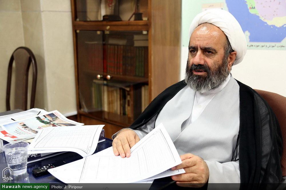 حجت الاسلام و المسلمین  ملکدار  در گفت و گو با خبرگزاری حوزه