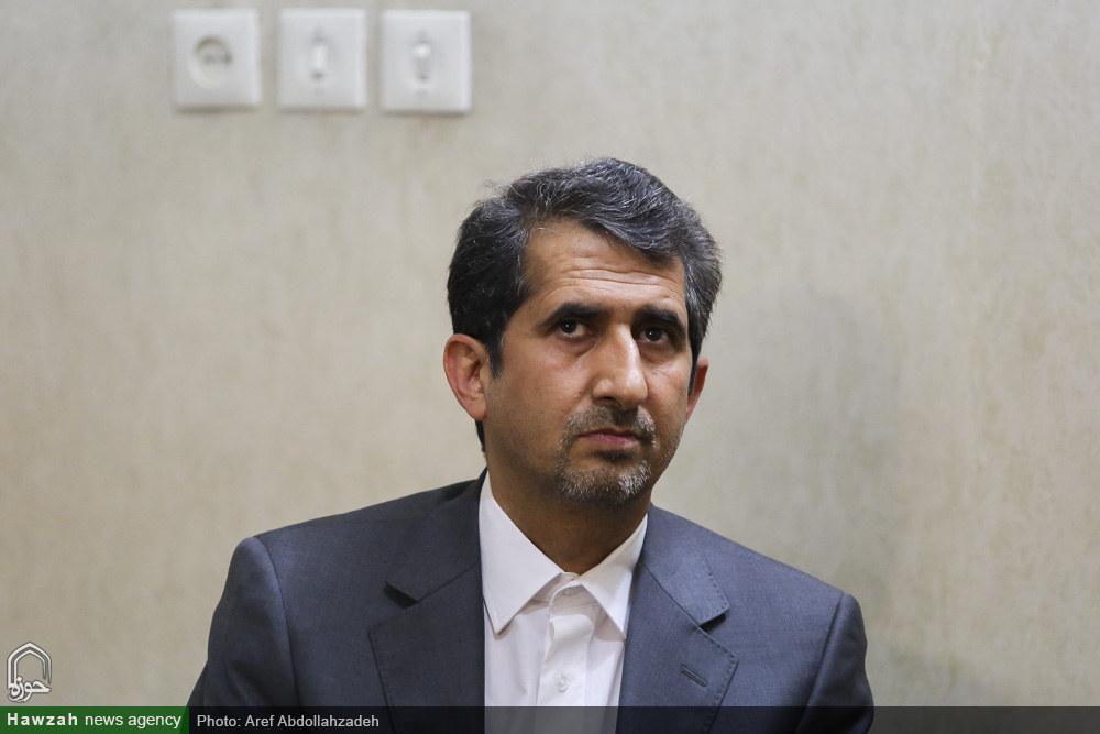 حضرت آیت الله سبحانی در دیدار دکتر ایرانی خواه