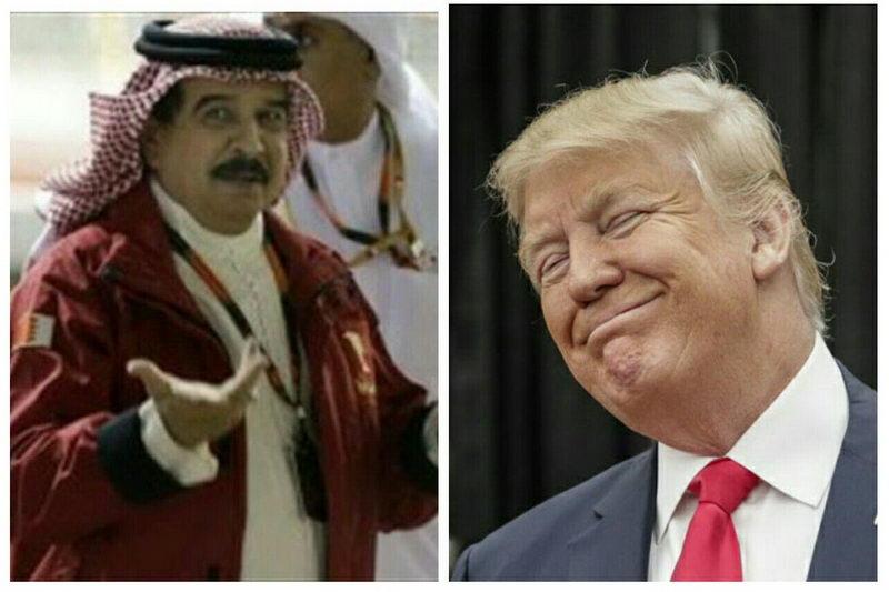 بحرین و آمریکا