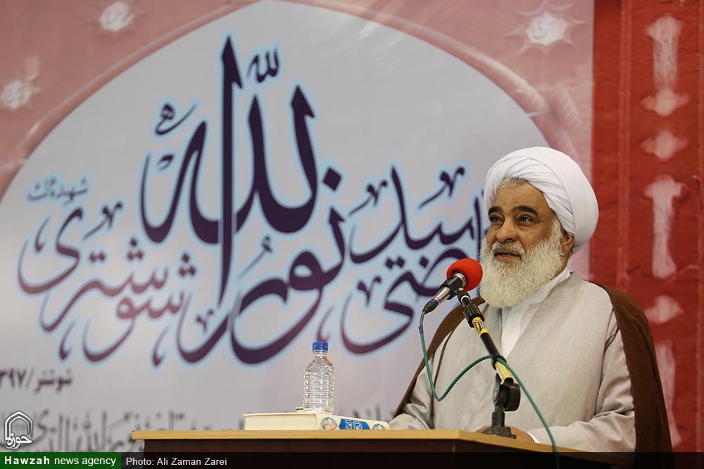 حجت الاسلام سلیمانی ، امام جمعه شوشتر