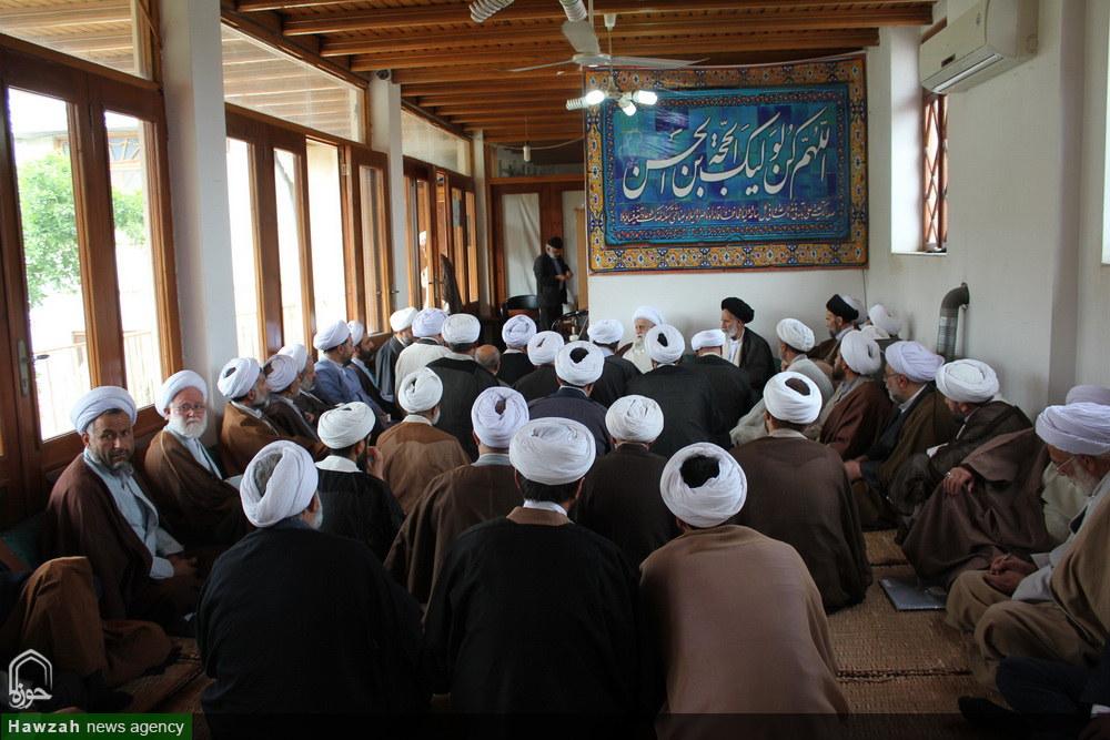 تصاویر/ درس خارج فقه آیت الله نظری خادم الشریعه در ساری