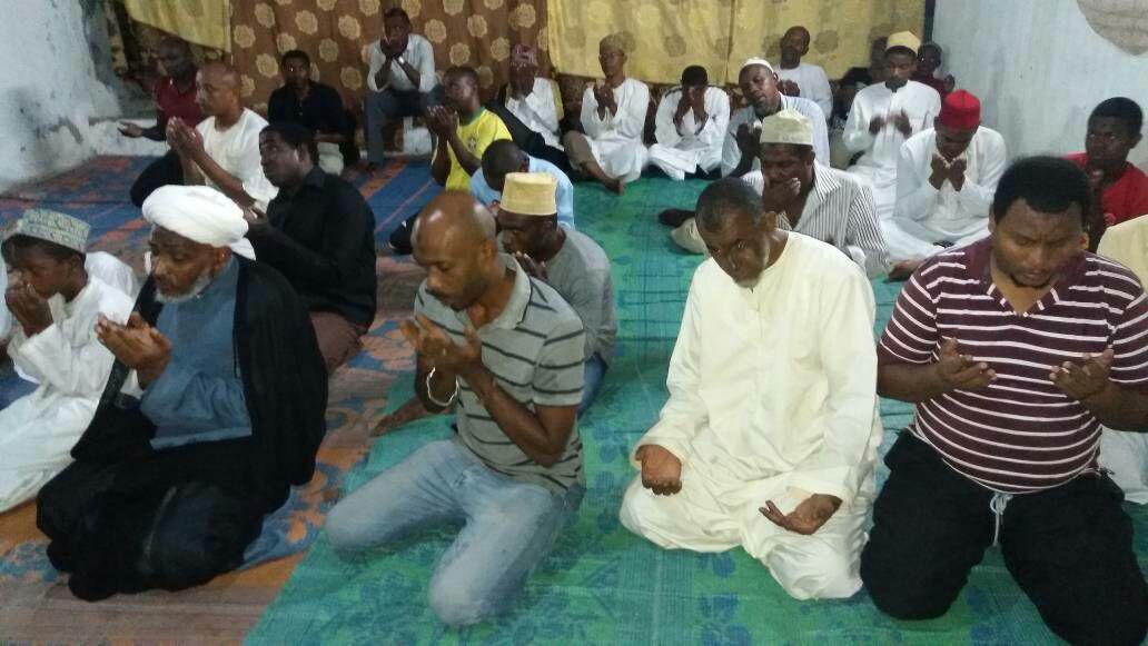 جشن نمیه شعبان در جزیره آفریقایی آنژوآن