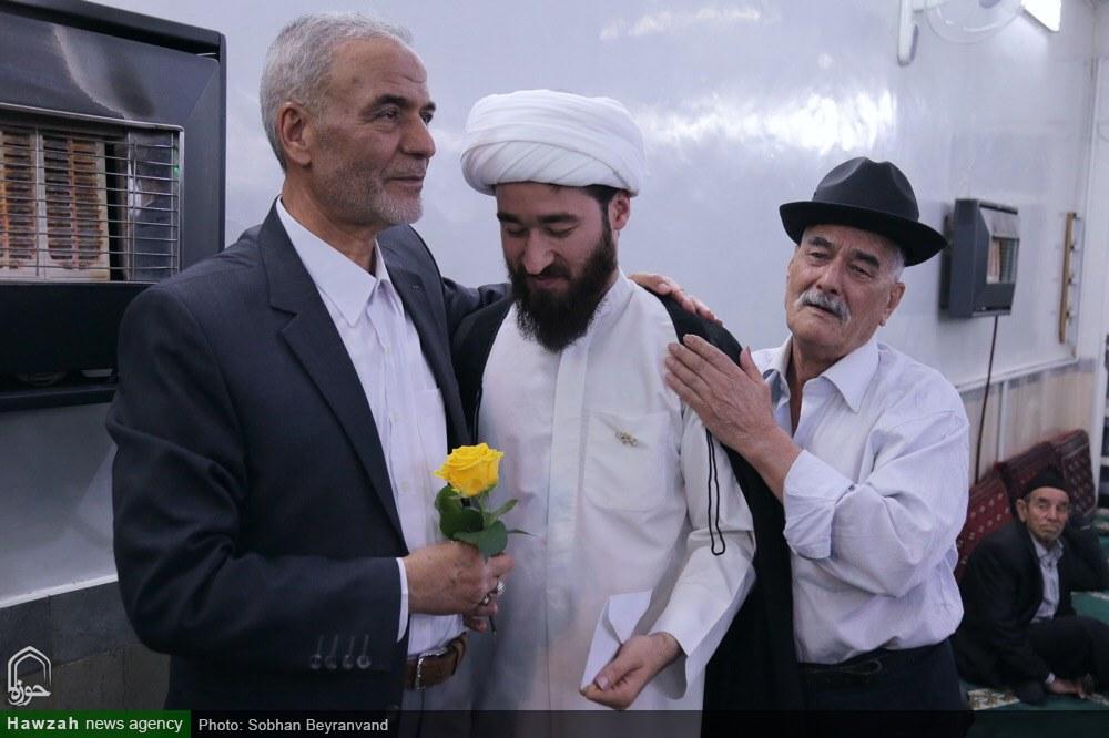 جشن عمامه گذاری طلاب تهرانی در نیمه شعبان