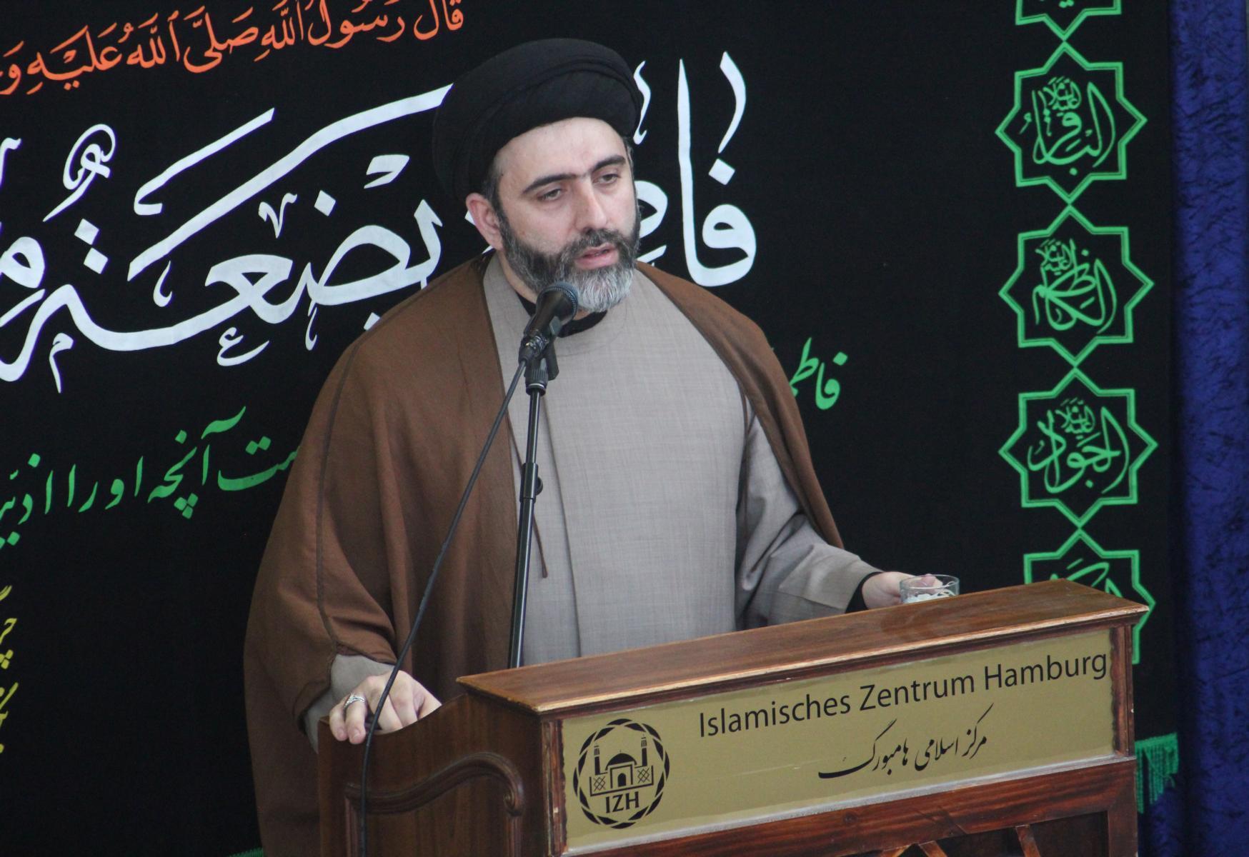 حجت الاسلام موسوی معاون مرکز اسلامی هامبورگ