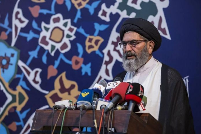 حجت الاسلام والمسلمین سید ساجد علی نقوی رئیس شورای علمای شیعه پاکستان
